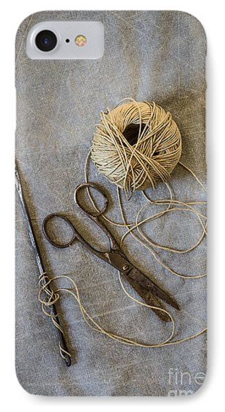 Needle And String IPhone Case