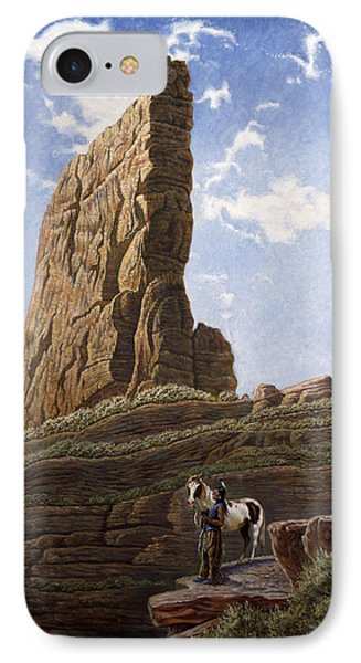 Needle Rock IPhone Case by Gregory Perillo