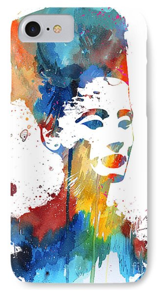 Nefertiti  IPhone Case by Watercolor Girl