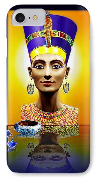 IPhone Case featuring the photograph Nefertiti  The  Beautiful by Hartmut Jager