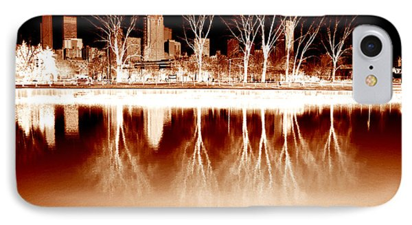 Negative Reflections  IPhone Case by Robert Knight