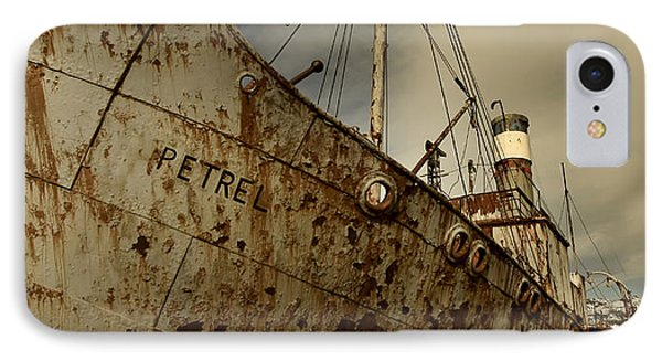 Neglected Whaling Boat IPhone Case by Amanda Stadther