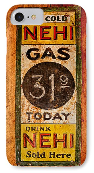 Nehi And Gas Sold Here Phone Case by Priscilla Burgers