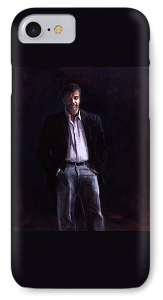Neil Degrasse Tyson IPhone Case by Sarah Yuster