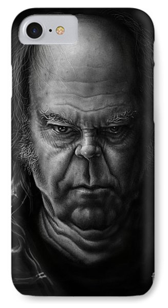 Neil Young IPhone 7 Case by Andre Koekemoer