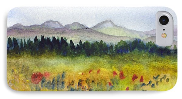 Nek Mountains And Meadows IPhone Case by Donna Walsh