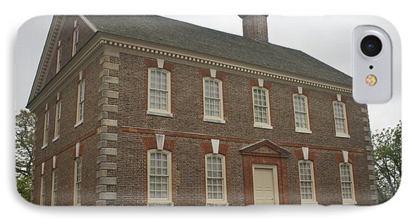 Nelson House Yorktown IPhone Case