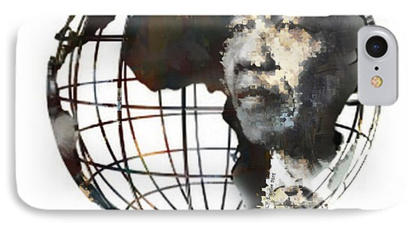 Nelson Mandela - Born To Rule Quote IPhone Case