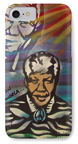 Nelson Mandela Art  IPhone Case by Tony B Conscious