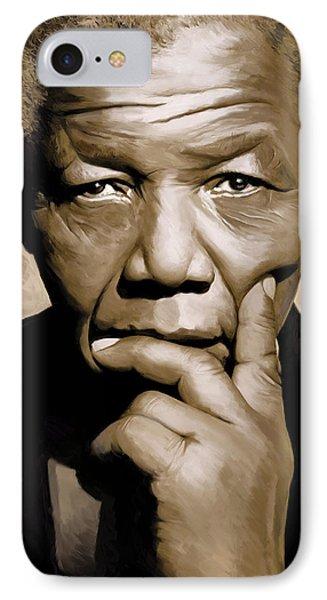 Nelson Mandela Artwork IPhone Case