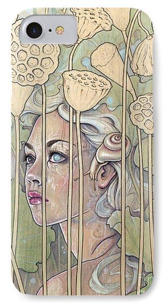 Nelumbo Phone Case by Fay Helfer