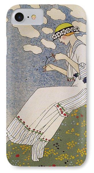 N'en Dites Rien Phone Case by Georges Barbier