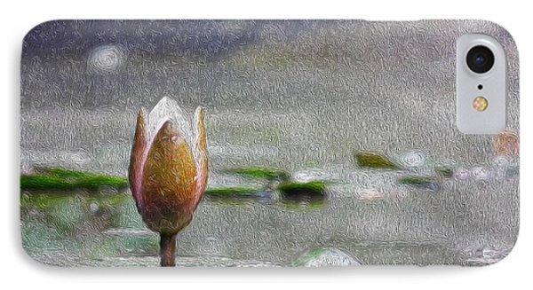 Nenufares Water Lilies Oleo IPhone Case