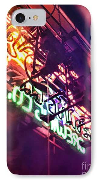 Neon IPhone Case by HD Connelly
