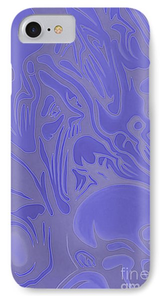 Neon Intensity IPhone Case by Michael  TMAD Finney