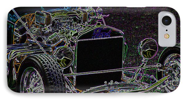 Neon Roadster IPhone Case by Ernie Echols