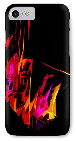 Neon Sax IPhone Case