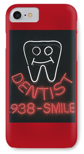Neon Smile IPhone Case