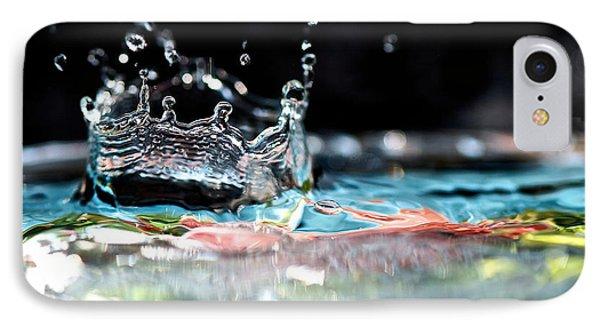 Neptune's Crown Phone Case by Lisa Knechtel