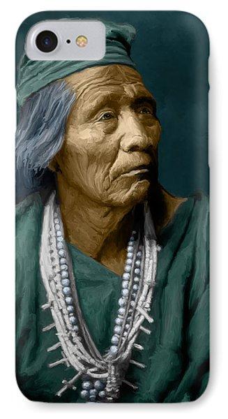 Nesjaja Hatali - Navaho IPhone Case by Rick Mosher