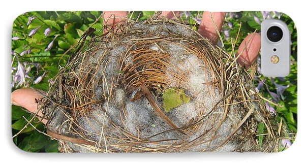 IPhone Case featuring the photograph A Nest In Hand by Bruce Carpenter