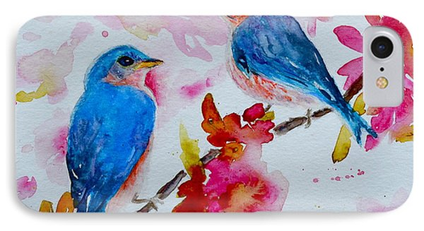 Nesting Pair IPhone Case by Beverley Harper Tinsley