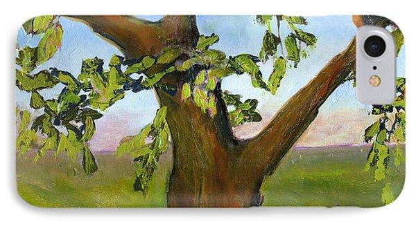 Nesting Tree IPhone Case by Blenda Studio
