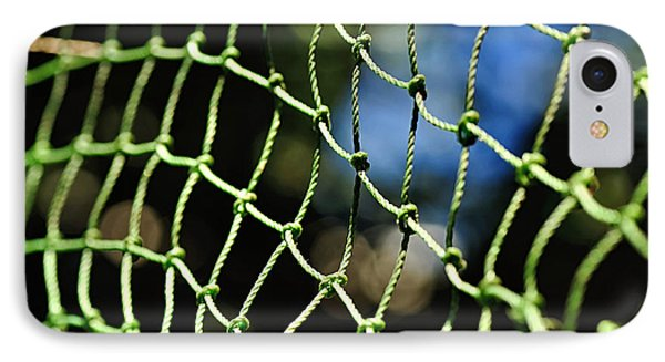 Netting - Abstract Phone Case by Kaye Menner