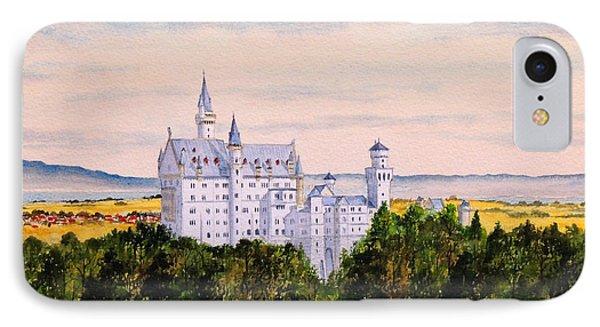 Neuschwanstein Castle Bavaria Germany IPhone Case by Bill Holkham