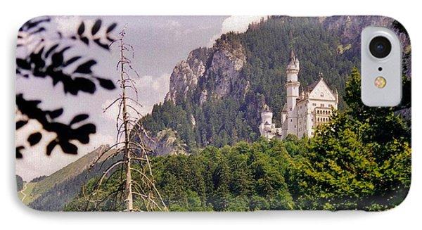 Neuschwanstein Castle Phone Case by Halifax Artist John Malone
