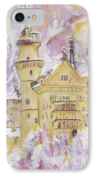 Neuschwanstein Castle  Phone Case by Helena Bebirian