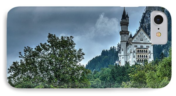 IPhone Case featuring the photograph Neuschwanstein Castle by Joe  Ng