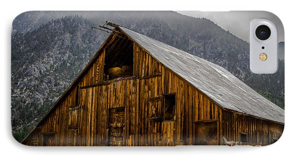 Nevada Barn Phone Case by Mitch Shindelbower