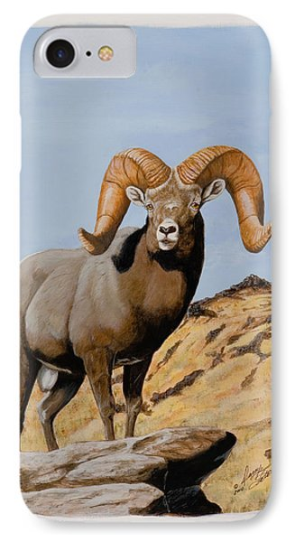 Nevada California Bighorn IPhone Case