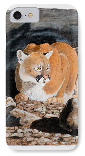 Nevada Cougar IPhone Case