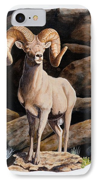 Nevada Desert Bighorn IPhone Case