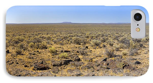 IPhone Case featuring the photograph Nevada Desert Panorama by Mark Greenberg