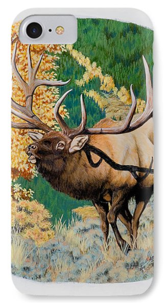 Nevada Nontypical Elk IPhone Case