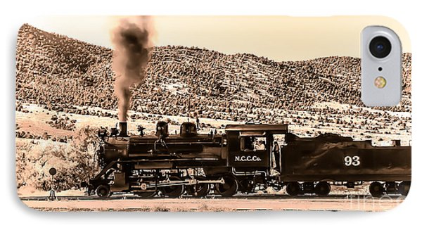 Nevada Northern Railway Phone Case by Robert Bales