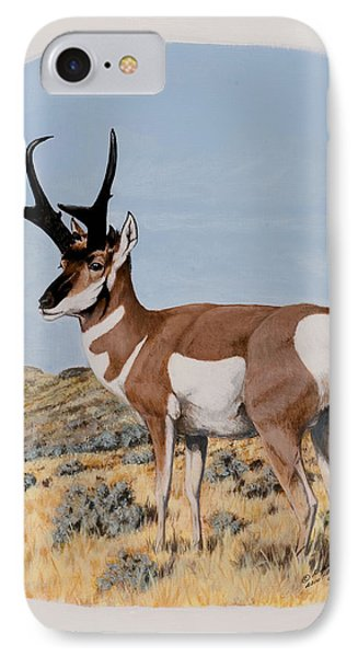 Nevada Pronghorn  IPhone Case
