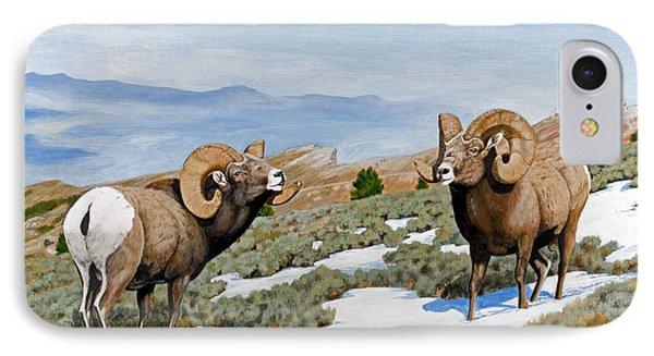 Nevada Rocky Mountain Bighorns IPhone Case