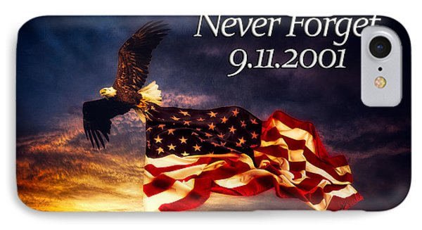 Never Forget  IPhone Case by Joshua Minso