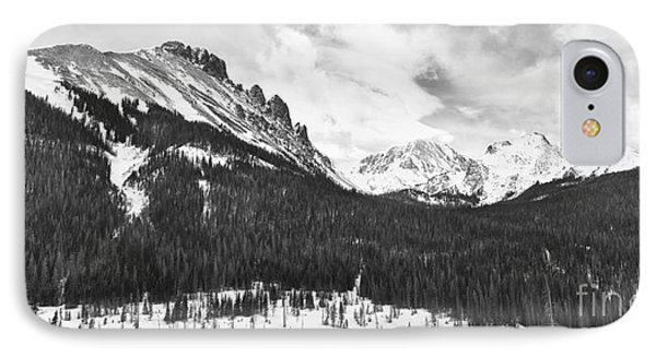 Never Summer Wilderness Area Panorama Bw Phone Case by James BO  Insogna