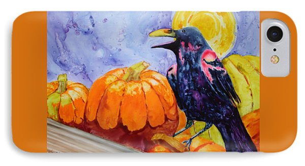 Nevermore IPhone Case by Nancy Jolley