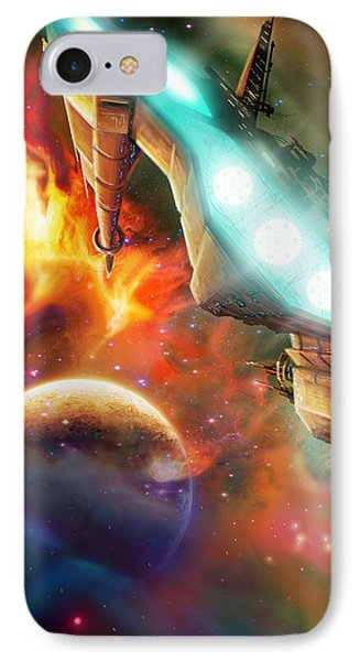 Nevtar Stardrive IPhone Case by James Christopher Hill
