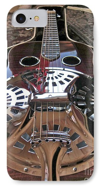 New 6 String Guitar IPhone Case by Kathryn Barry