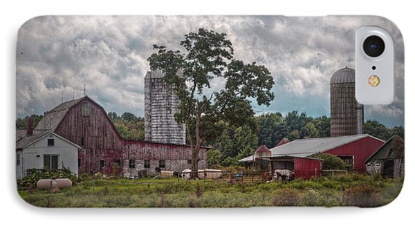 New And Old Barn IPhone Case by Linda Unger