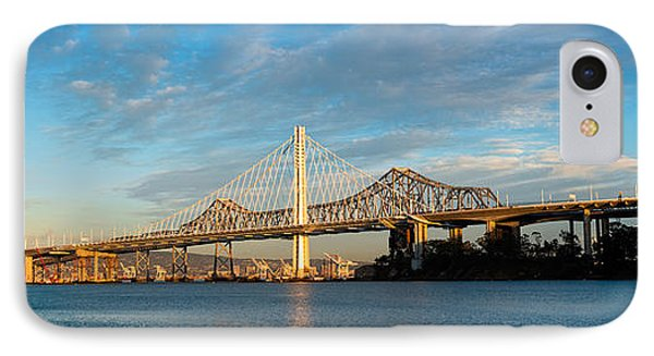 New And Old Eastern Span IPhone Case by Panoramic Images