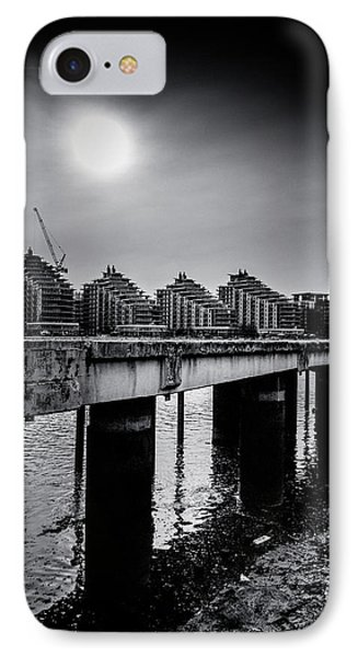 New Apartments Near Battersea Phone Case by Lenny Carter