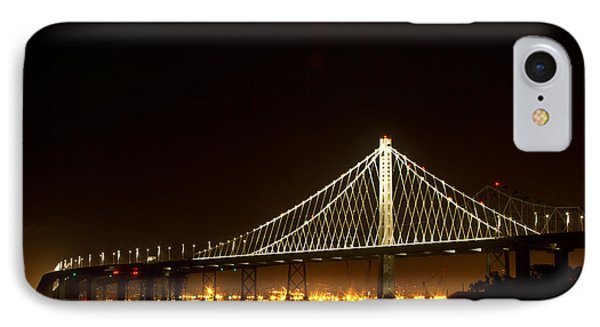 New Bay Bridge IPhone Case by Bill Gallagher
